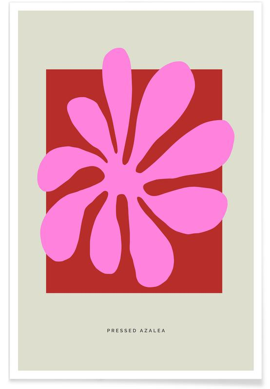 , Pressed Azalea Poster