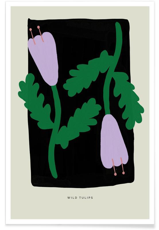 Tulipes, Wild Tulips II affiche