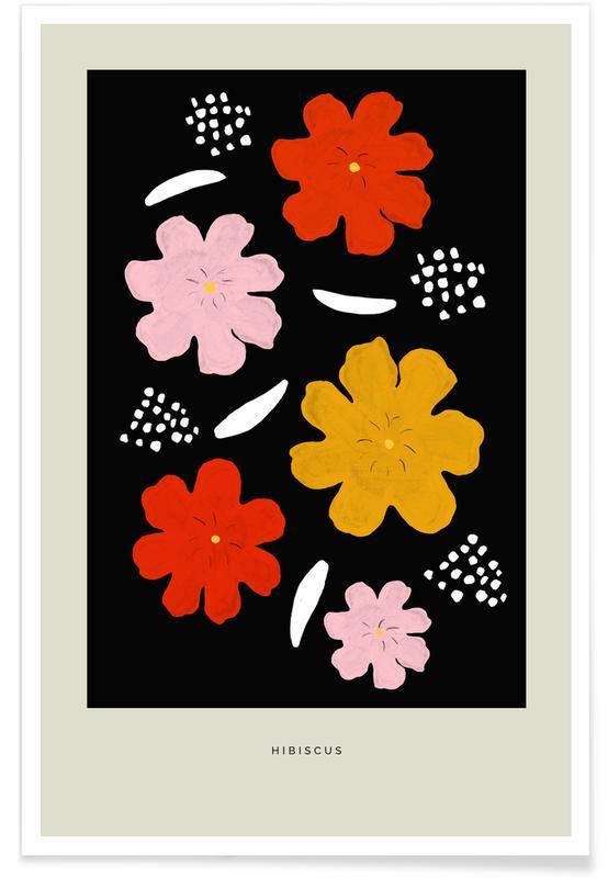 , Hibiscus II Poster