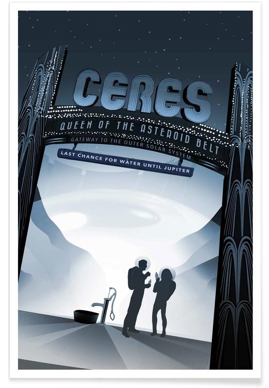 Reise, Vintage Reise, Ceres -Poster