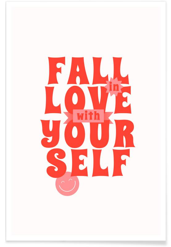 Citations et slogans, Fall in Love affiche
