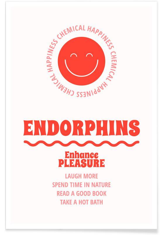 Quotes en slogans, Endorphins poster