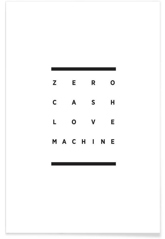Noir & blanc, Love Machine affiche