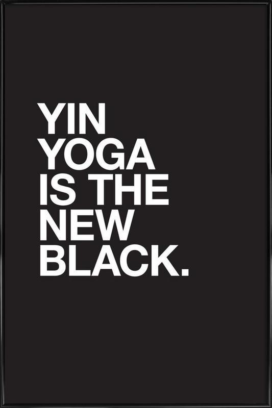 Yin Yoga Poster i standardram