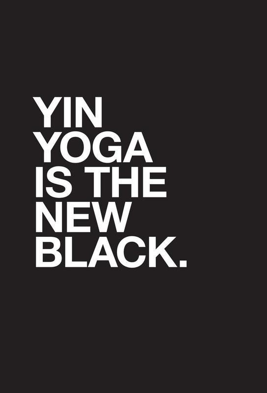 Yin Yoga -Acrylglasbild