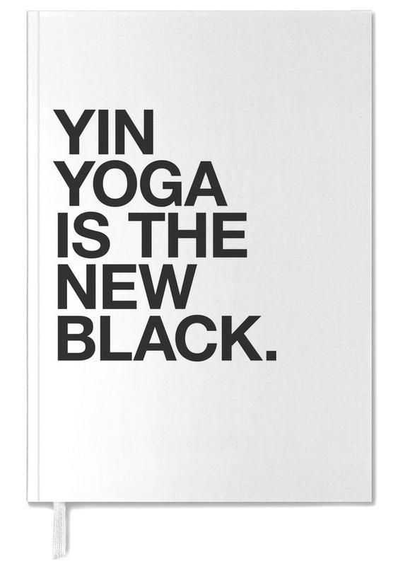 Yin Yoga black -Terminplaner
