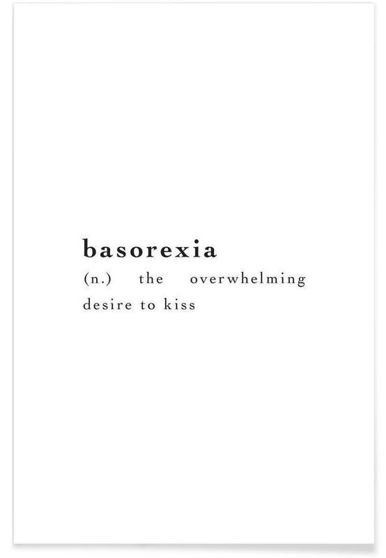Citations d'amour, Citations et slogans, Basorexia affiche