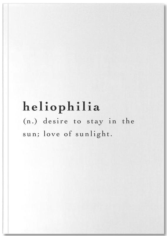 Heliophilia Notebook
