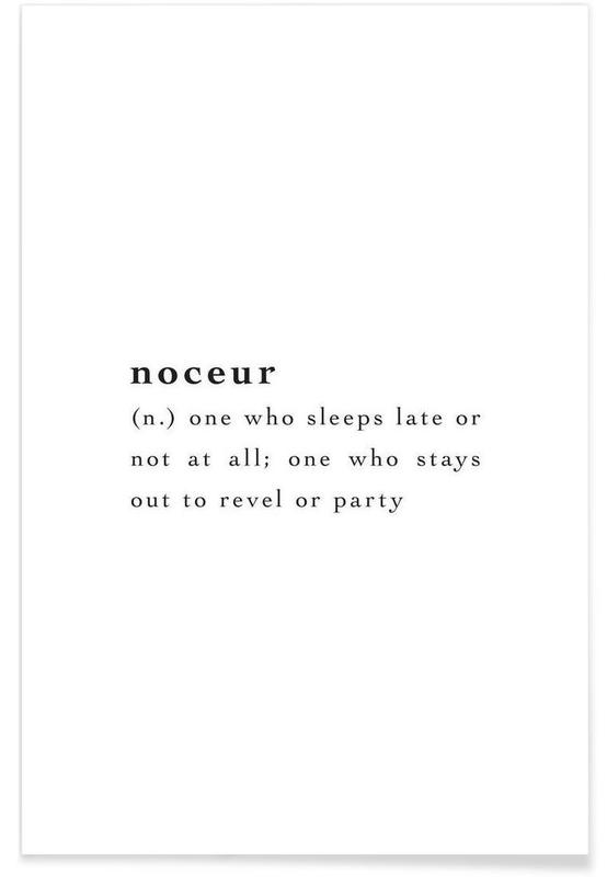 Noceur Poster