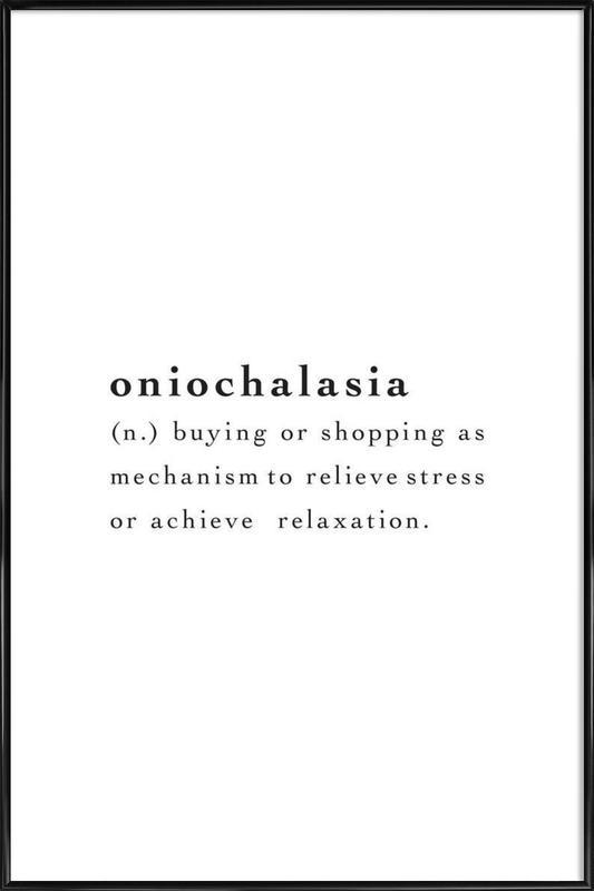 Oniochalasia -Bild mit Kunststoffrahmen
