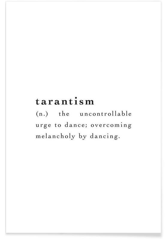 Tarantism affiche