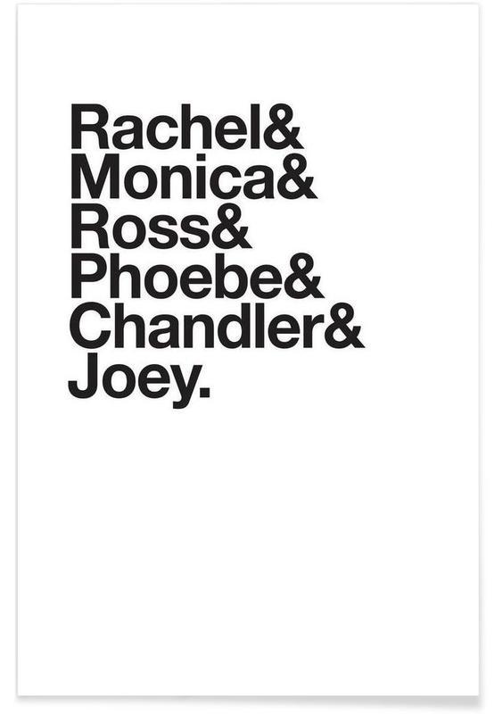 Noir & blanc, Séries TV, Just Friends affiche