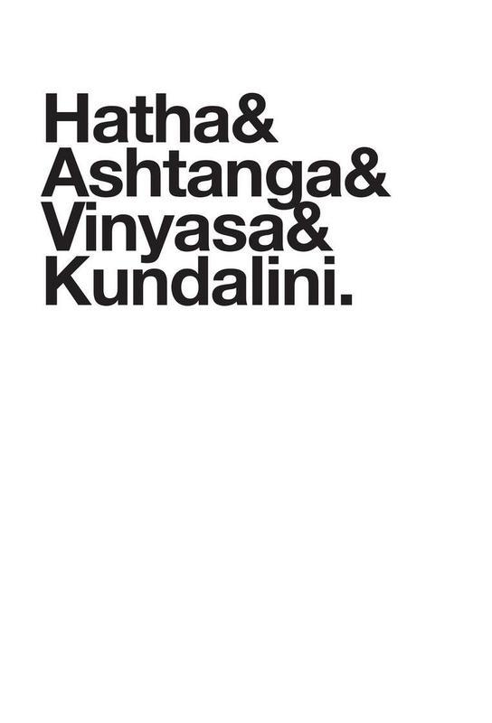 Yoga Akrylglastavla