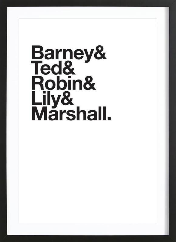 Maclaren's heroes Poster i träram
