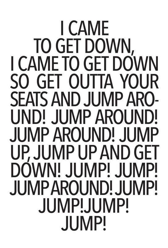 Jump! -Acrylglasbild