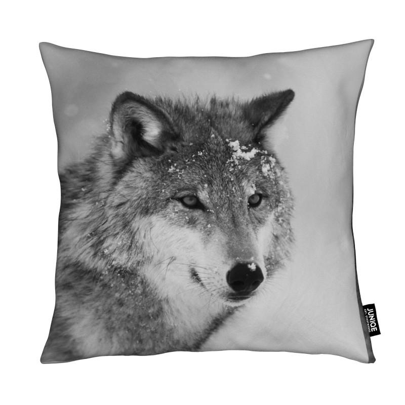 The Wolf coussin