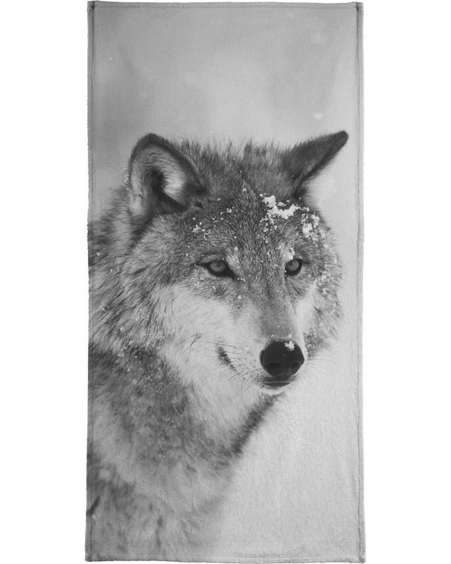 The Wolf -Handtuch