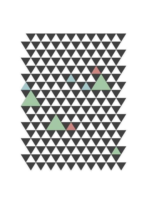 Nordic Pattern Canvastavla