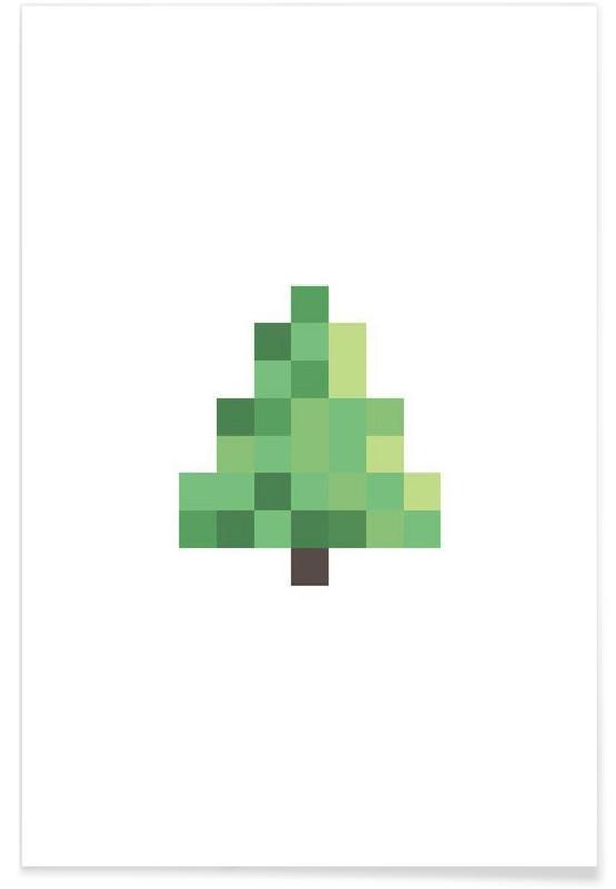 Pixel Tree poster