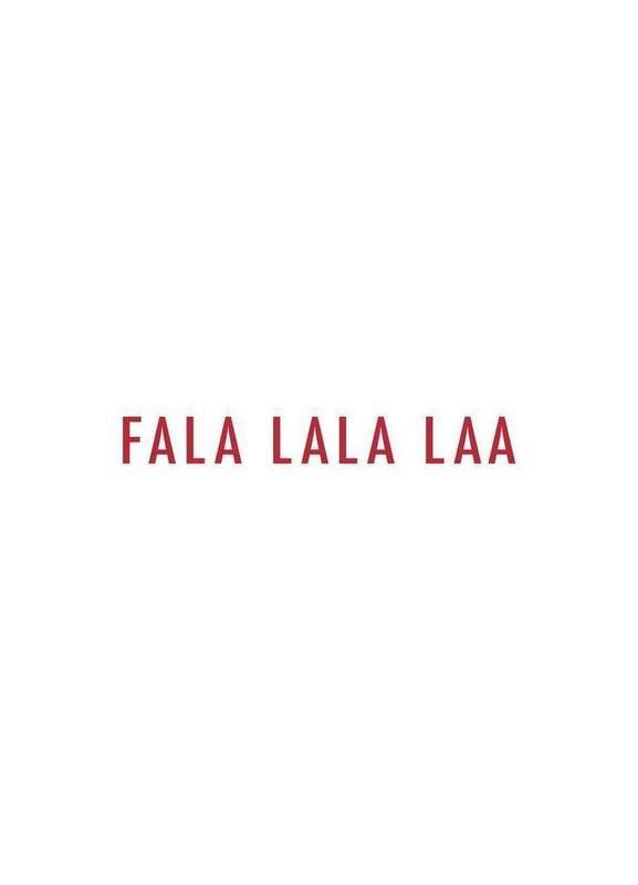 Fala Lala Laa Canvas Print