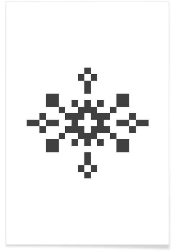 Black Snowflake 1 Poster