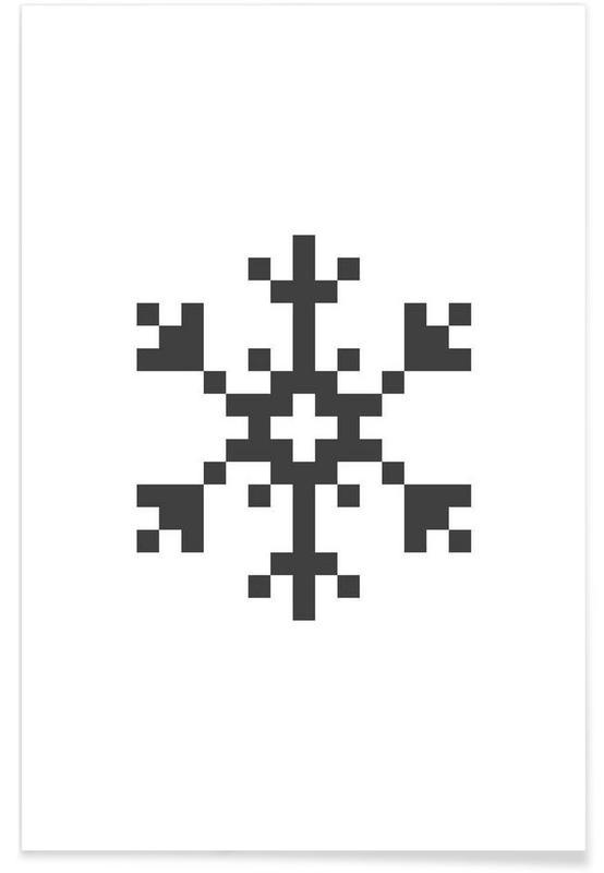 Jul, Black Snowflake 2 Plakat