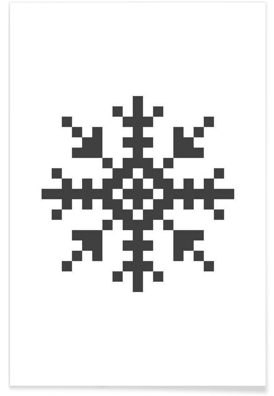 Jul, Black Snowflake 3 Plakat