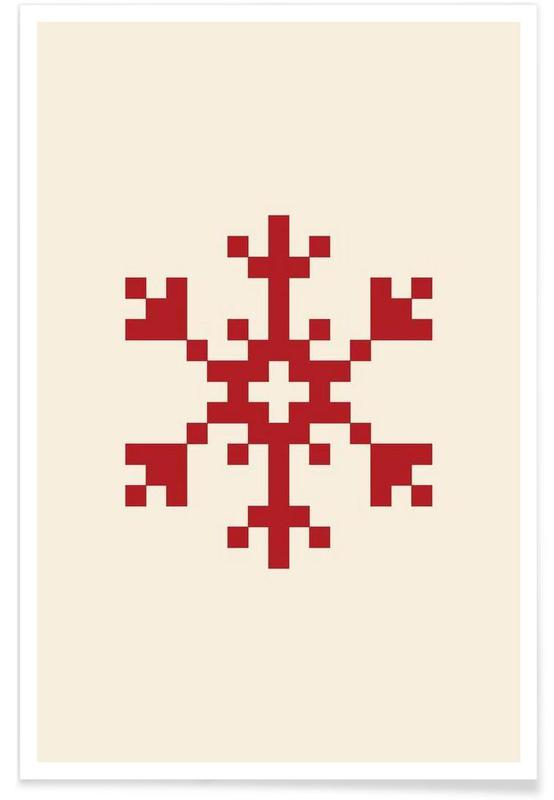Red Snowflake 2 poster