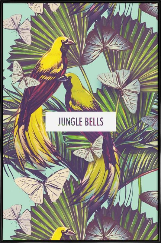 Jungle Bells! affiche encadrée