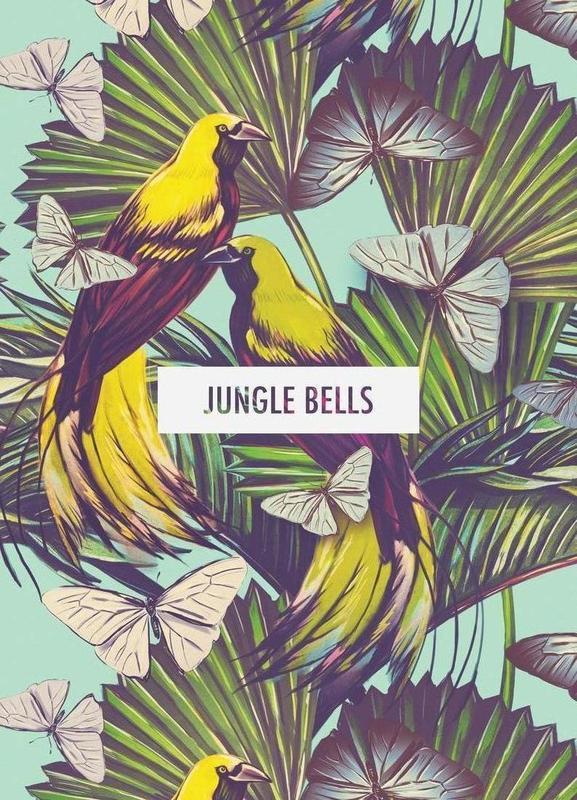 Jungle Bells! Canvastavla