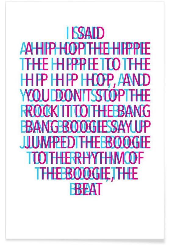 Lyrik, Delight stereo Plakat