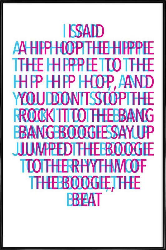 Delight stereo Poster i standardram