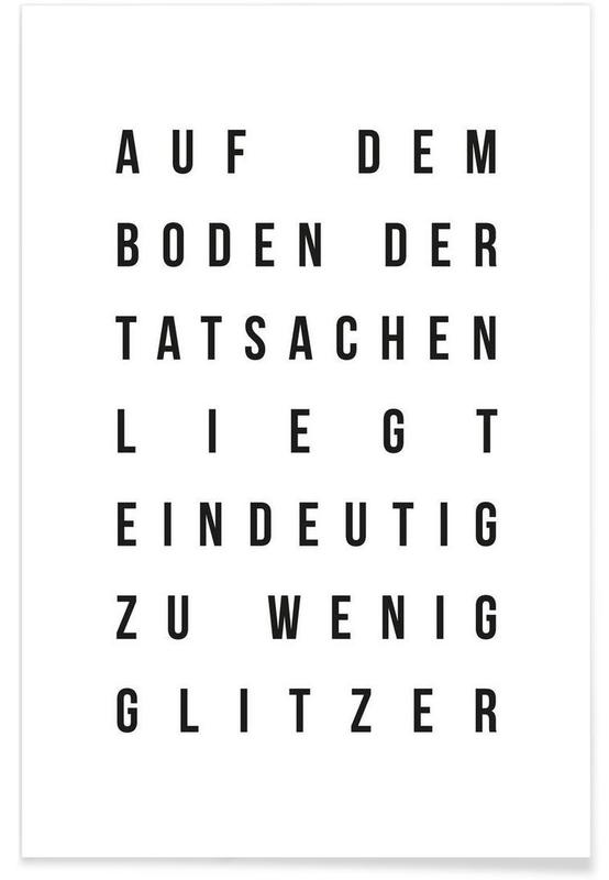 Sabrina's Glitzer poster