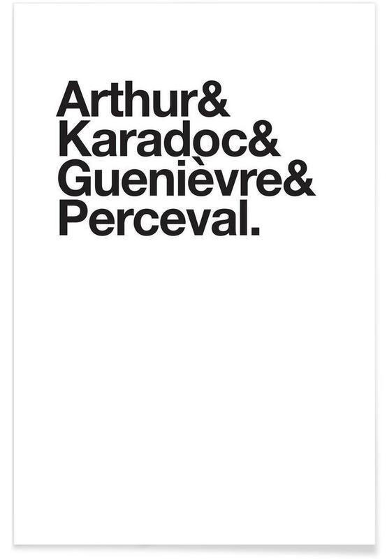 Sort & hvidt, TV show, Kaamelott Heroes Plakat