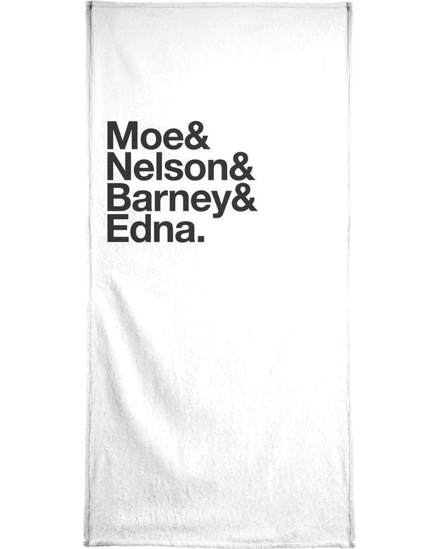 Schwarz & Weiß, Serien, Yellow Mopes -Handtuch