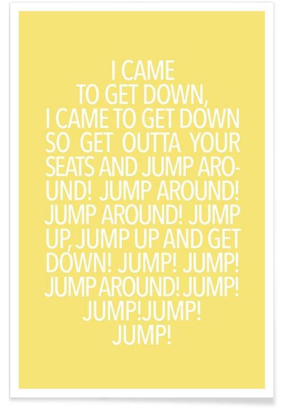 Paroles de chansons, Jump Yellow affiche