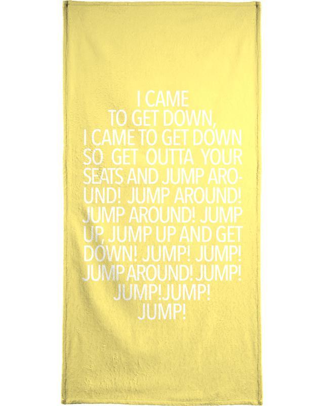 Songtexte, Jump Yellow -Handtuch