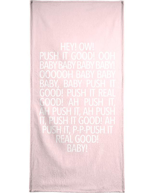 Songtexte, Real Good Pink -Handtuch