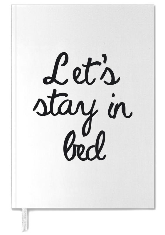 Let's Stay In Bed Personal Planner