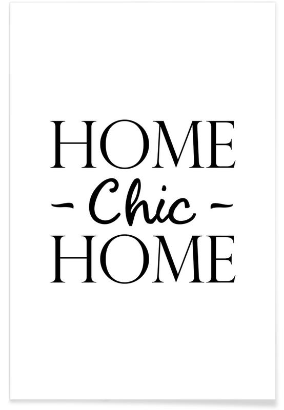 Home Chic Home poster