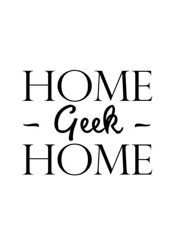 Home Geek Home Canvas Print