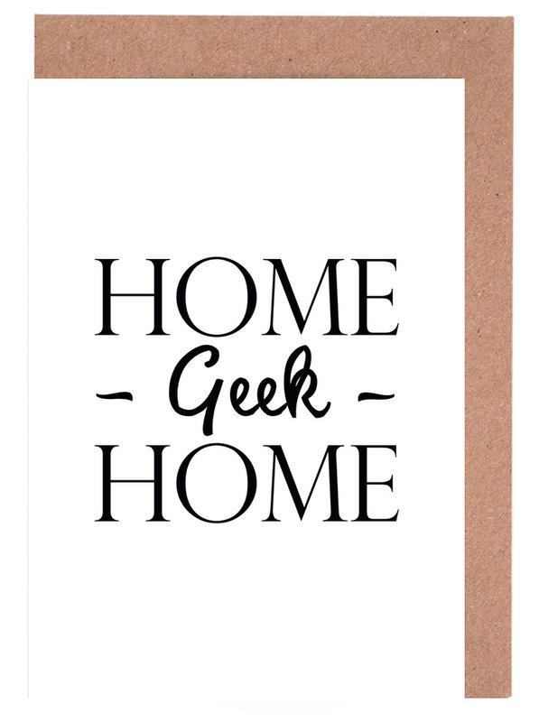Home Geek Home cartes de vœux