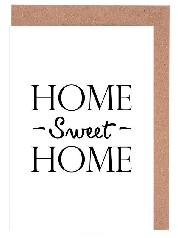 Home Sweet Home Greeting Card Set