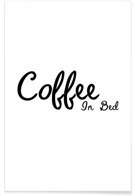 Coffee In Bed Poster