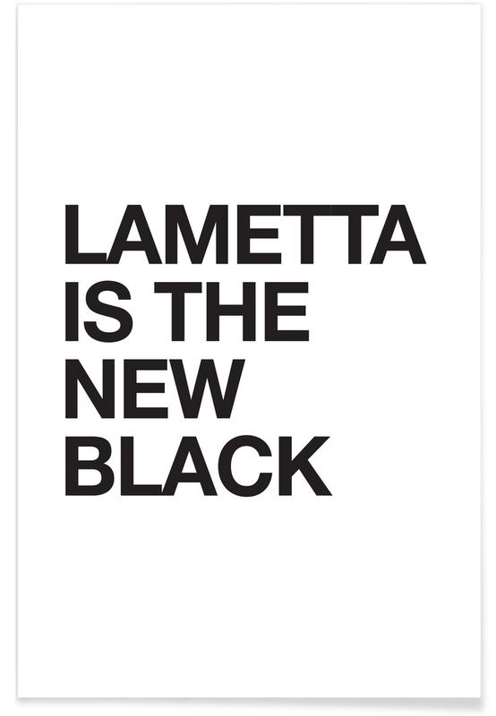 Lametta Is The New Black -Poster