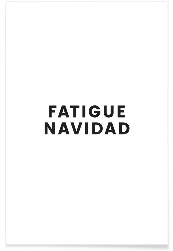 Fatigue Navidad poster