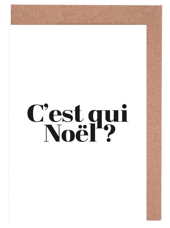 Noel? Greeting Card Set