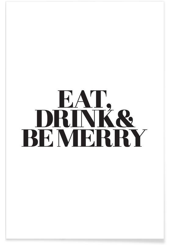 Jul, Eat, Drink & Be Merry Plakat