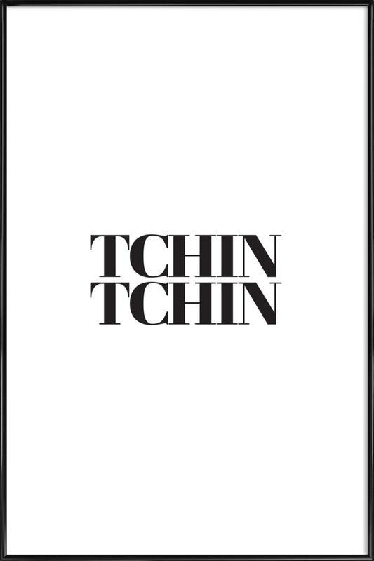 Tchin Tchin affiche encadrée