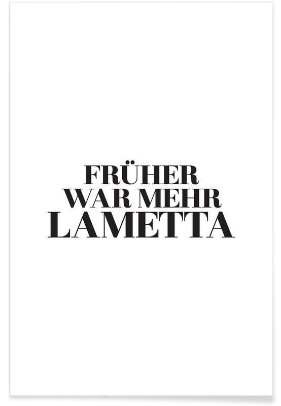 Sort & hvidt, Früher Plakat